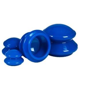 Silicone cups for cupping 4-pack