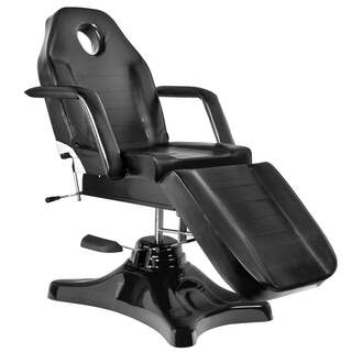 Tattoo chair hydraulic - Black