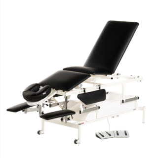Fysio II, electric With adjustable leg section / backrest