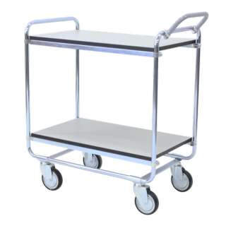 Shelf trolley 100, for 150 kg, in ESD version