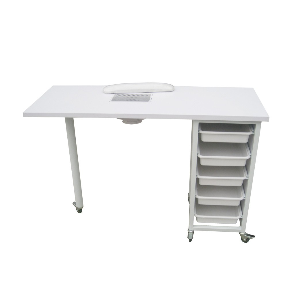 Dust collectors nails absor manicure table salon for Unique manicure tables