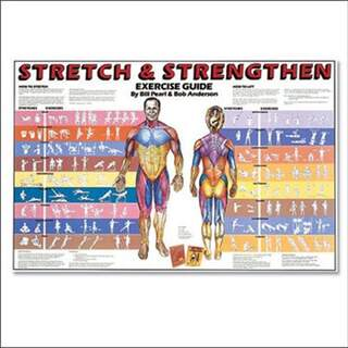 Stretching Exercises - English Poster