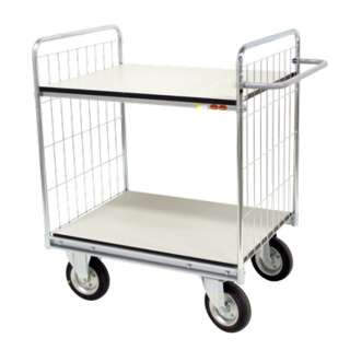 Shelf trolley 300/22, for 300 kg, in ESD version