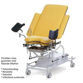 Gynchair - electrically adjustable with two or three motors