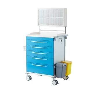 Anesthesia trolley healthcare
